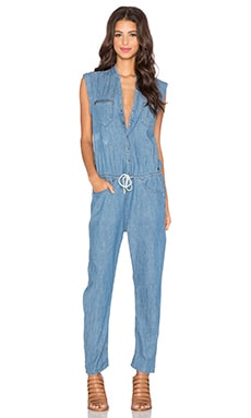 G-Star Midge Jumpsuit in Light Aged Destroyed