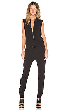 G-Star Tatum 3D Tapered Jumpsuit in Black