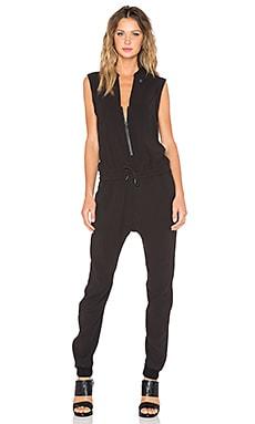 G-Star Tatum 3D Tapered Jumpsuit in Black