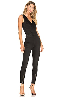 Lynn Zip Grip Sleeveless Jumpsuit in Dark Aged