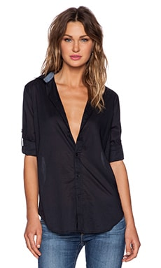 G-Star Sharill Boyfriend Shirt in Navy