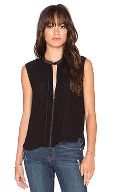 G-Star 5620 Sleeveless Biker Top in Black