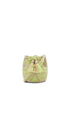 XS Bucket Bag in Lime