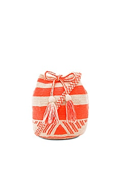 Medium Bucket Bag en Naranja