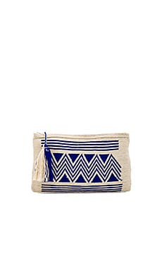 By Sea Clutch in Blue
