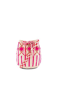 Medium Bucket Bag in Pink
