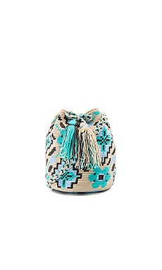 Medium Bucket Bag en Azul