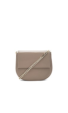 Lou 2.0 Shoulder Bag in Taupe & Gold