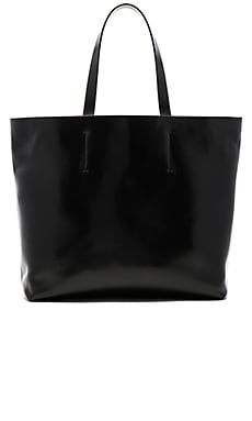 Luca Tote Bag in Black & Silver