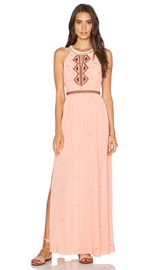 Greylin Gia Maxi Dress in Coral
