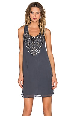 Greylin Bibi Embellished Dress in Smoke