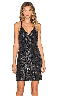 Greylin Jai Sequin Dress in Black