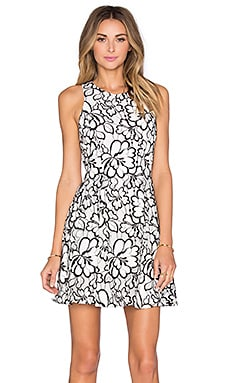 Bruna Floral Lace Dress