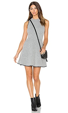 Barlow Mohair Sweater Knit Dress in Grey