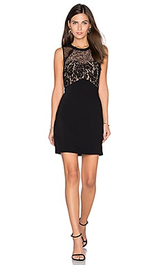 Cynthia Lace Dress in Black