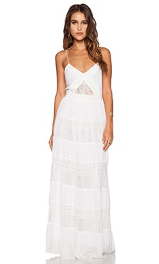 Greylin Mariana Maxi Dress in White