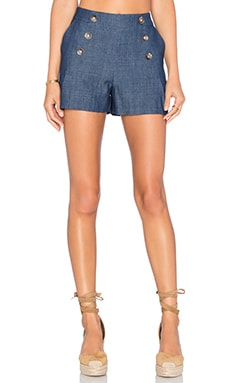 Greylin Rene Chambray Short in Chambray