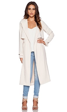 Greylin Pietra Trench Coat in Oyster