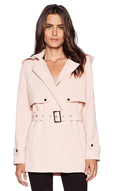 Greylin Stella French Coat in Blush