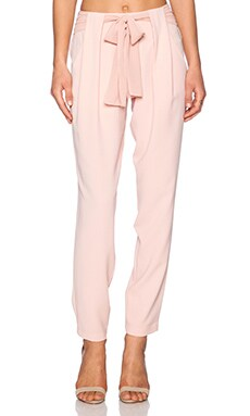 Greylin Talia Belted Pants in Rose Pink