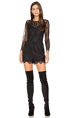 Shirley Lace Romper