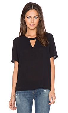 Greylin Thelius Top in Black