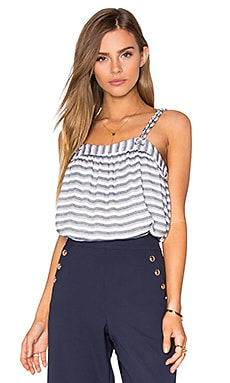 Darla Tiered Yarn Dyed Striped Cami