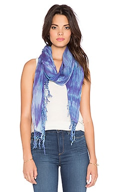 Gypsy 05 Bamboo Tie Dye Scarf in Lavender