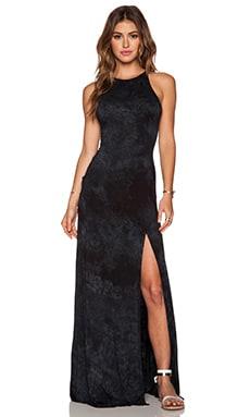 Gypsy 05 Halter Maxi Dress in Black