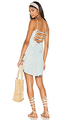 Gypsy 05 X Back Tank Dress in Cloud