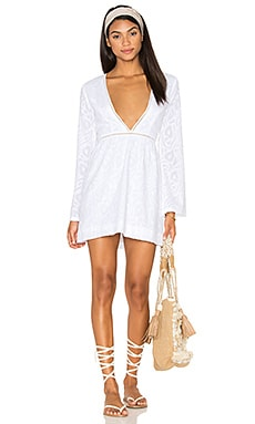 Gypsy 05 Novelty Mini Dress in White