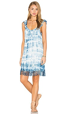 Crochet Fringe Dress in Vitti Meadow
