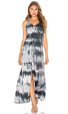 Multi Strap Maxi Dress in Malini Storm