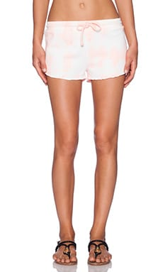 Gypsy 05 Drawstring Short in Coral Tie Dye