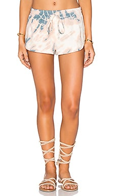 Drawstring Lounge Short in Selfe Sunset