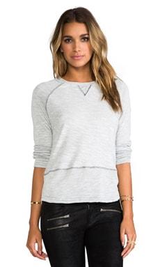 Gypsy 05 Lounge Raglan Sweater in Silver