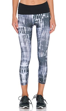 Gypsy 05 Active Capri Pant in Charcoal
