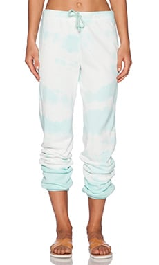 Gypsy 05 Drawstring Sweatpant in Jade Tie Dye