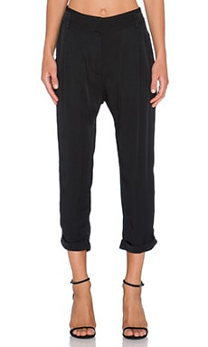 Gypsy 05 Harem Trouser Pant in Black