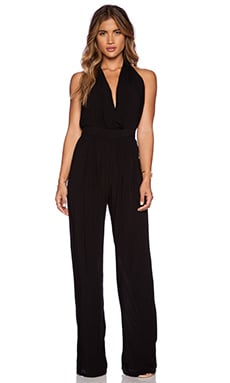 Gypsy 05 Halter Jumpsuit in Black