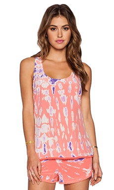 Gypsy 05 Racerback Tank in Coral