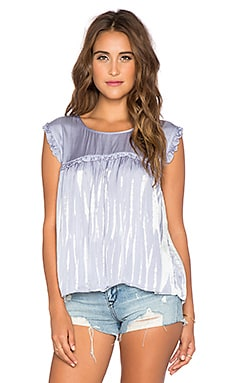 Gypsy 05 Baby Doll Keyhole Top in Manatee