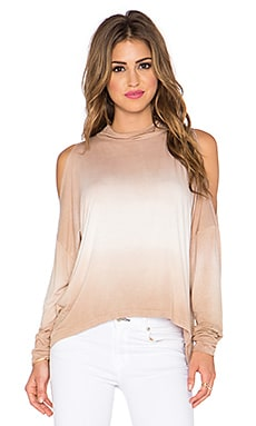 Gypsy 05 Open Shoulder Top in Rose