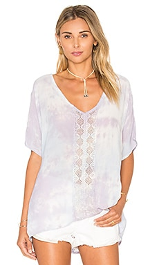 Dolman Sleeve Lace Top in Tiegs Lilac