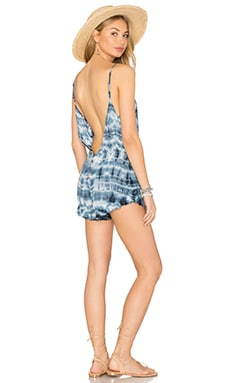 Low Back Romper in Midnight