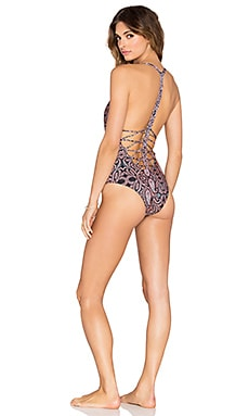 Gypsy 05 Ramoue Marina One Piece with Macrame in Neapolitan