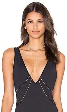 Haati Chai Body Chain in Gold