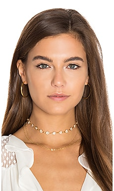 Haati Chai Chain Choker in Gold