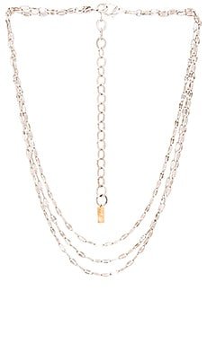 Haati Chai Layered Necklace in Silver