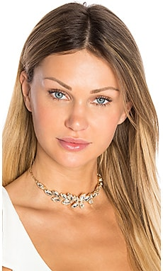 Carmen Crystal Choker in Gold